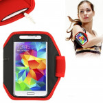 Sports Armband Case for Samsung Galaxy S5 / G900 / S IV / i9500 / i9300 (Red)
