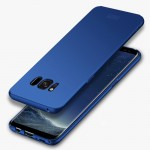 MOFI For Samsung Galaxy S8 Frosted PC Ultra-thin Edge Fully Wrapped Up Protective Case Back Cover(Blue)