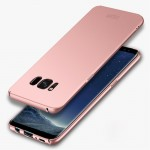 MOFI For Samsung Galaxy S8 + / G955 Frosted PC Ultra-thin Edge Fully Wrapped Up Protective Case Back Cover(Rose Gold)
