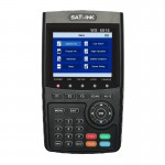 SATLINK WS6916 Digital Satellite Signal Finder Meter, 3.5 inch TFT LCD Screen, Support DVB-S / S2, MPEG-2 / MPEG-4