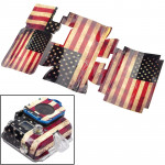 Retro USA Flag Pattern Case Sticker for GoPro Hero 3