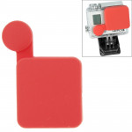 Rouge pour GoPro Hero 4 / 3+ Casquette Silicone - Wewoo