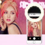 RK14 Anchor Beauty Artifact 3 Levels of Brightness Selfie Flash Light with 33 LED Light, For iPhone, Galaxy, Huawei, Xiaomi, LG,