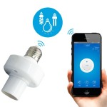 Sonoff Slampher RF eWelink Phone APP WiFi 2.4GHz E27 Smart Light Lamp Bulb Holder with Alexa Echo Voice Control for Smart Home,