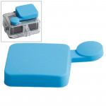 Bleu pour GoPro Hero 4 / 3+ Casquette Silicone - Wewoo