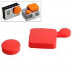 TMC Silicone Cover Set for GoPro Hero 4 / 3+(Red)