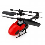 QINSONG QS5012 2CH Infrared Mini RC Helicopter, Size: 9cm x 5cm x 2cm (Red)