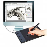 HUION H420 Computer input Device 4.17 x 2.34 inch 4000LPI Drawing Tablet Drawing Board