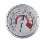 Stainless Steel Dual Display Accurate Barbecue Thermometer Industrial Thermometer with Anti-fog Glass