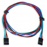 LDTR - YJ028 / C 4 - Pin Female to Female Wire Jumper Cable for Arduino / 3D Printer