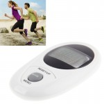 3D All Dimensional Waterproof Multifunction Digital Electronic Pedometer Step Counter(White)