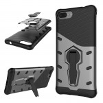 Asus Zenfone 4 Max 5.2 inch (ZC520KL) PC + TPU Dropproof Sniper Hybrid Protective Back Cover Case with 360 Degree Rotation Holde