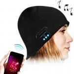 Bluetooth Headset Warm Winter Hat for iPhone 5 & 5S / iPhone 4 & 4S and Other Bluetooth Devices