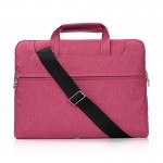 Portable One Shoulder Handheld Zipper Laptop Bag, For 15.4 inch and Below Macbook, Samsung, Lenovo, Sony, DELL Alienware, CHUWI,