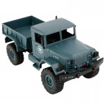 WPL B-1 DIY Assembly 1:16 Mini 4WD RC Military Truck Control Car Toy (Blue)