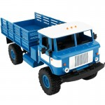 WPL B-24 DIY Assembly 1:16 Mini 4WD RC Military Truck Control Car Toy(Blue)