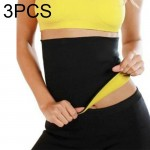 3 PCS NEOTEX HOT SHAPERS Abdomen Belt, Size: XXXL