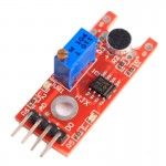 Microphone Voice Sound Sensor Module with LM393 Main Chip for Alarm System